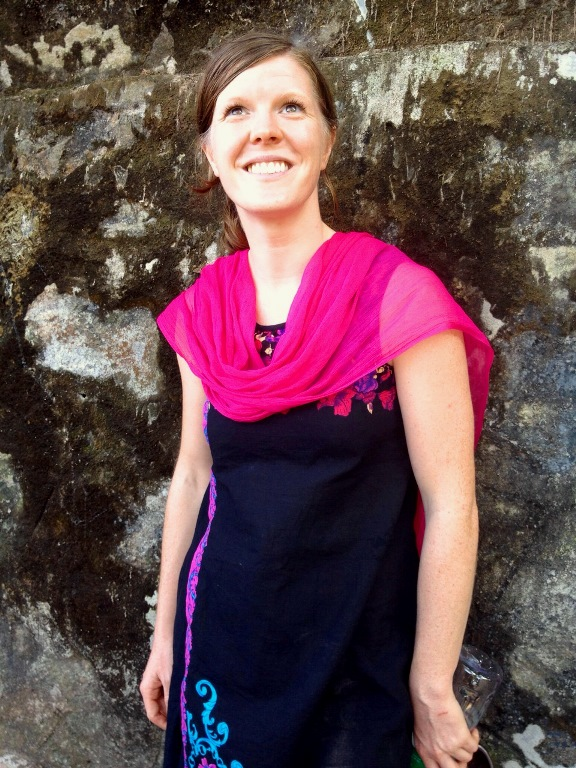 Annie Seymour, founder of Mahalaya Yoga retreats in Nepal