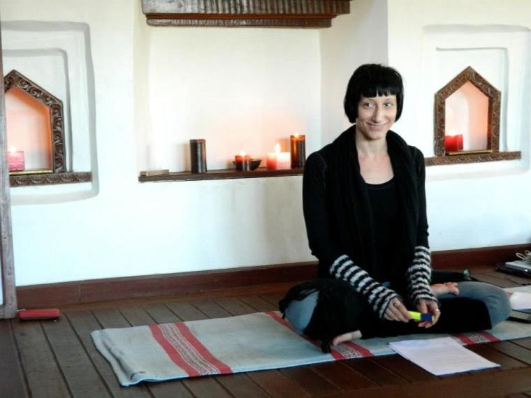 Sati Chmelar, yoga teacher trainer in Nepal